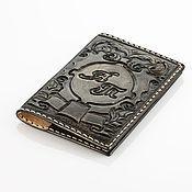 Сумки и аксессуары handmade. Livemaster - original item Cover with your initials for documents. Handmade.