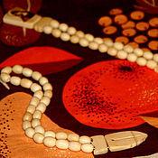 Фен-шуй и эзотерика ручной работы. Ярмарка Мастеров - ручная работа четки круглые из кости. Handmade.