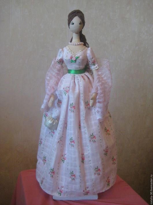 """Коллекционные куклы ручной работы. Ярмарка Мастеров - ручная работа. Купить Интерьерная кукла """"Скарлетт"""". Handmade. Кукла ручной работы"""