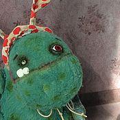 Куклы и игрушки ручной работы. Ярмарка Мастеров - ручная работа Мохыч - лесной монстряш. Handmade.