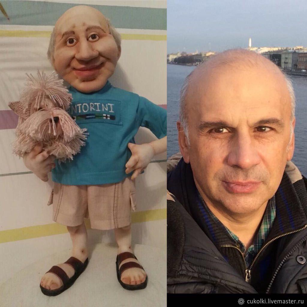 которой изготовление кукол шаржей по фото главное, отличие