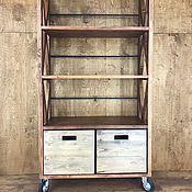 Для дома и интерьера handmade. Livemaster - original item Rack on wheels BOY SCOUT. Handmade.