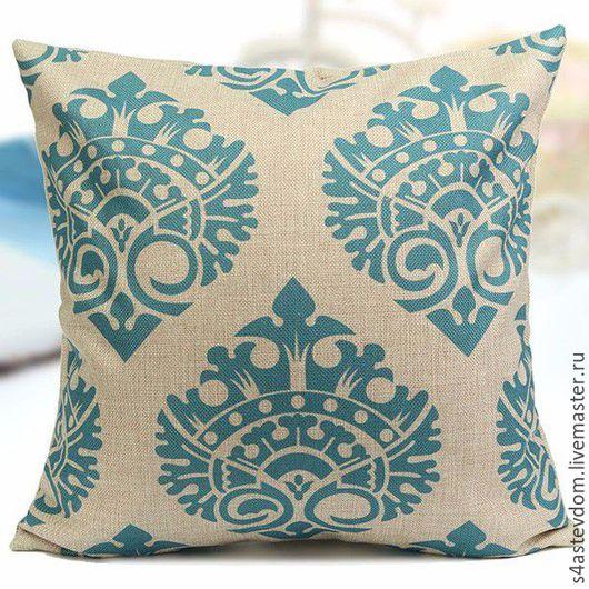Текстиль, ковры ручной работы. Ярмарка Мастеров - ручная работа. Купить Подушки для дома изумруд. Handmade. Ярко-зелёный, халофайбер