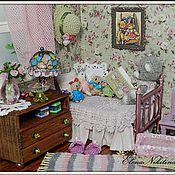 Куклы и игрушки ручной работы. Ярмарка Мастеров - ручная работа Румбокс Комнатка маленькой мишутки.. Handmade.