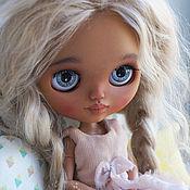 Кастом ручной работы. Ярмарка Мастеров - ручная работа Шарнирная куколка Blythe Blond hair ПРОДАНА. Handmade.