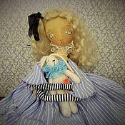 Куклы и игрушки ручной работы. Ярмарка Мастеров - ручная работа Алиса с белым кроликом. Handmade.