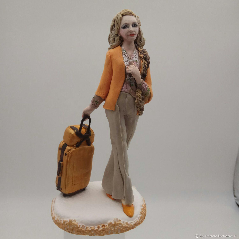 Портретные куклы ручной работы. Ярмарка Мастеров - ручная работа. Купить Фигурка с портретным сходством. Handmade. Миниатюра, душевный подарок