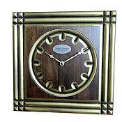 Для дома и интерьера handmade. Livemaster - original item A wall clock. Beech. Old gold. Six.. Handmade.