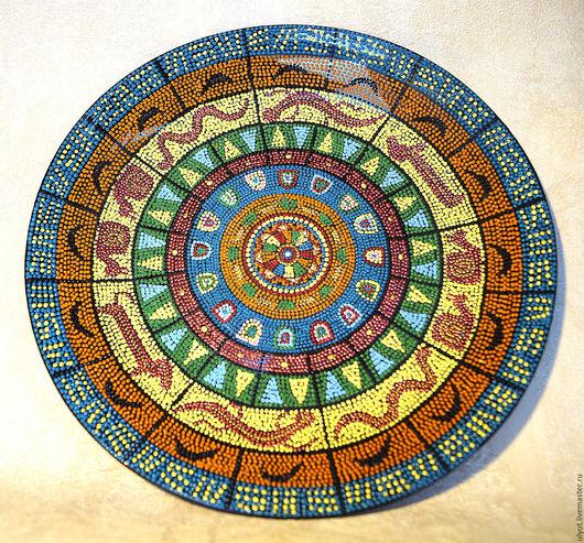 Декоративная посуда ручной работы. Ярмарка Мастеров - ручная работа. Купить Тарелка декоративная Акуна матата. Handmade. Комбинированный