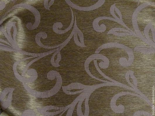 Шитье ручной работы. Ярмарка Мастеров - ручная работа. Купить Ткань портьерная Вензель Черничный. Handmade. Бледно-розовый, спальня