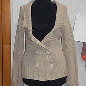 Одежда ручной работы. Ярмарка Мастеров - ручная работа Жакет  Монвизо,100% шерсть, Ирландия. Handmade.