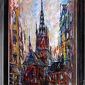Картины и панно ручной работы. Ярмарка Мастеров - ручная работа Стокгольм. Handmade.
