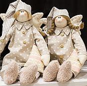 Куклы Тильда ручной работы. Ярмарка Мастеров - ручная работа Пара Ангелов Сплюшки, Игрушка Тильда. Handmade.