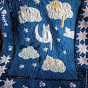 """Для дома и интерьера ручной работы. Ярмарка Мастеров - ручная работа Одеяло """"КОтейкины сны"""". Handmade."""