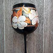 Посуда handmade. Livemaster - original item Glasses: Magnolia. Handmade.