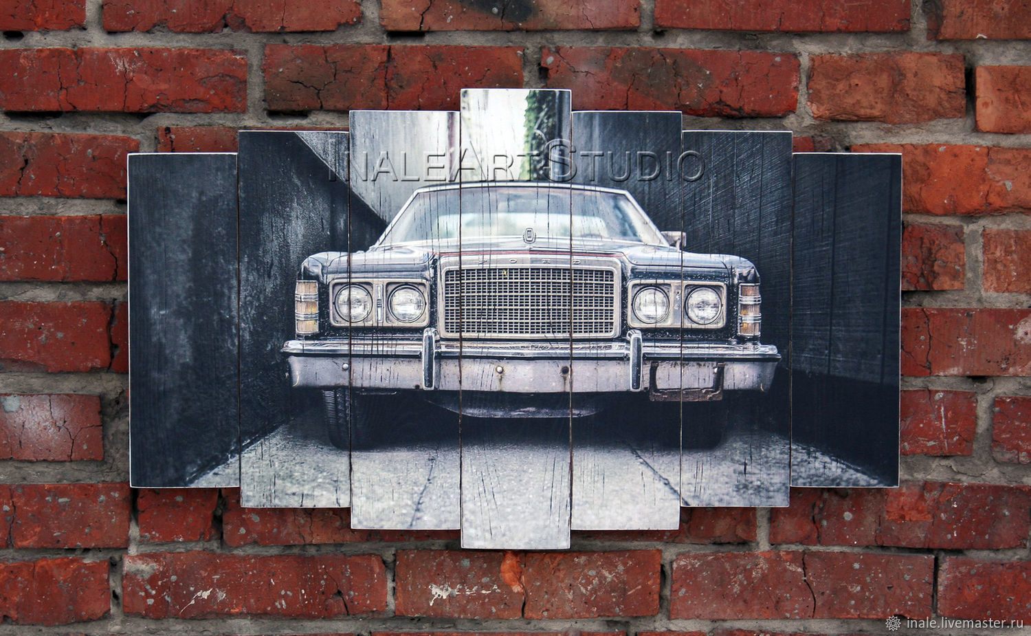 Ford Picture on wood Wood wall hanging, Fine art photographs, Tomsk,  Фото №1
