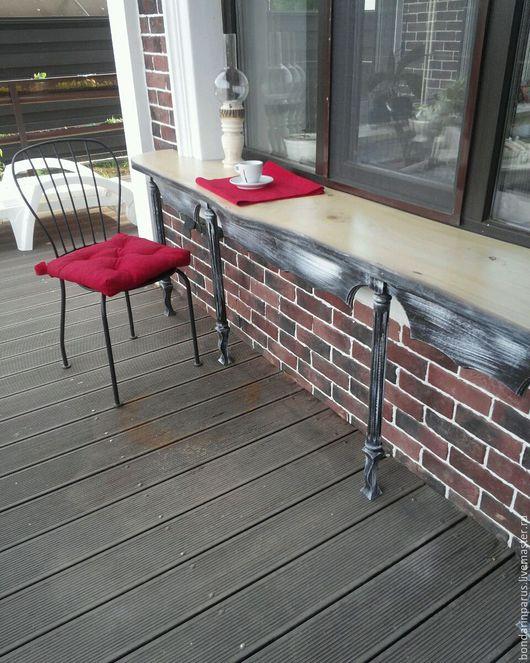 Мебель ручной работы. Ярмарка Мастеров - ручная работа. Купить Стол на террасе. Handmade. Стол, столик