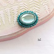 Украшения handmade. Livemaster - original item A beaded brooch