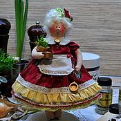 Куклы и игрушки ручной работы. Ярмарка Мастеров - ручная работа Толстушка. Украшение интерьера кухни.. Handmade.