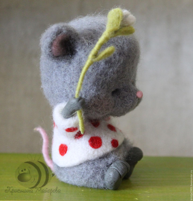 Mouse Tasia, Stuffed Toys, Tomsk,  Фото №1