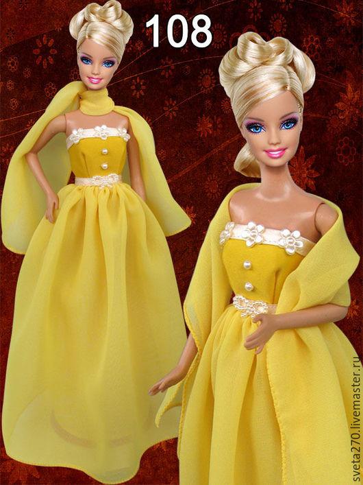 Одежда для кукол ручной работы. Ярмарка Мастеров - ручная работа. Купить Одежда для кукол Барби (бальные и вечерние платья). Handmade.