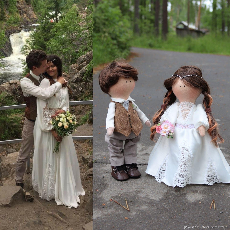 Свадебные куклы, Портретная кукла, Кондопога,  Фото №1