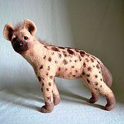 """Куклы и игрушки ручной работы. Ярмарка Мастеров - ручная работа Войлочная игрушка """"Гиена"""". Handmade."""