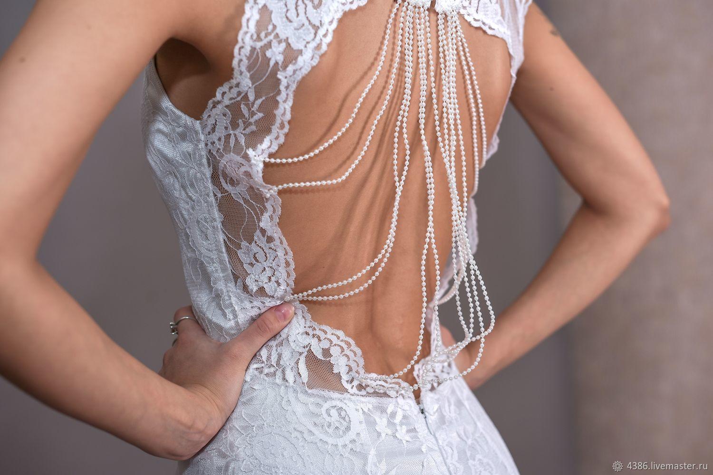7b0c8678fe6 Платья ручной работы. Ярмарка Мастеров - ручная работа. Купить Белое платье  с открытой спиной ...