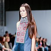 Одежда handmade. Livemaster - original item Crochet dress from the collection