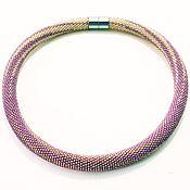 Украшения handmade. Livemaster - original item Harness of Japanese beads milky way. Handmade.