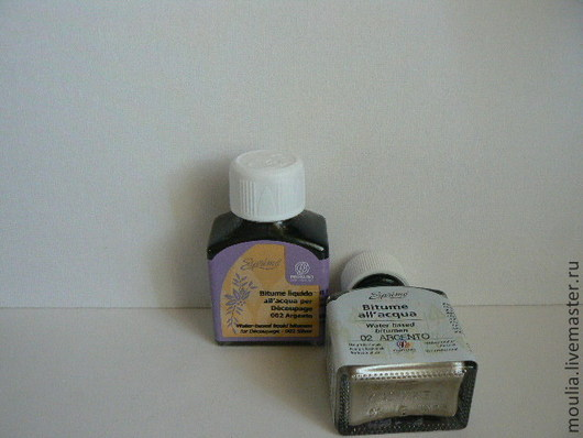 Битум жидкий на водной основе FERRARIO, цвет серебро, 75мл 002 Серебро 4/0