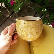 Посуда handmade. Livemaster - original item Mug large. Handmade.