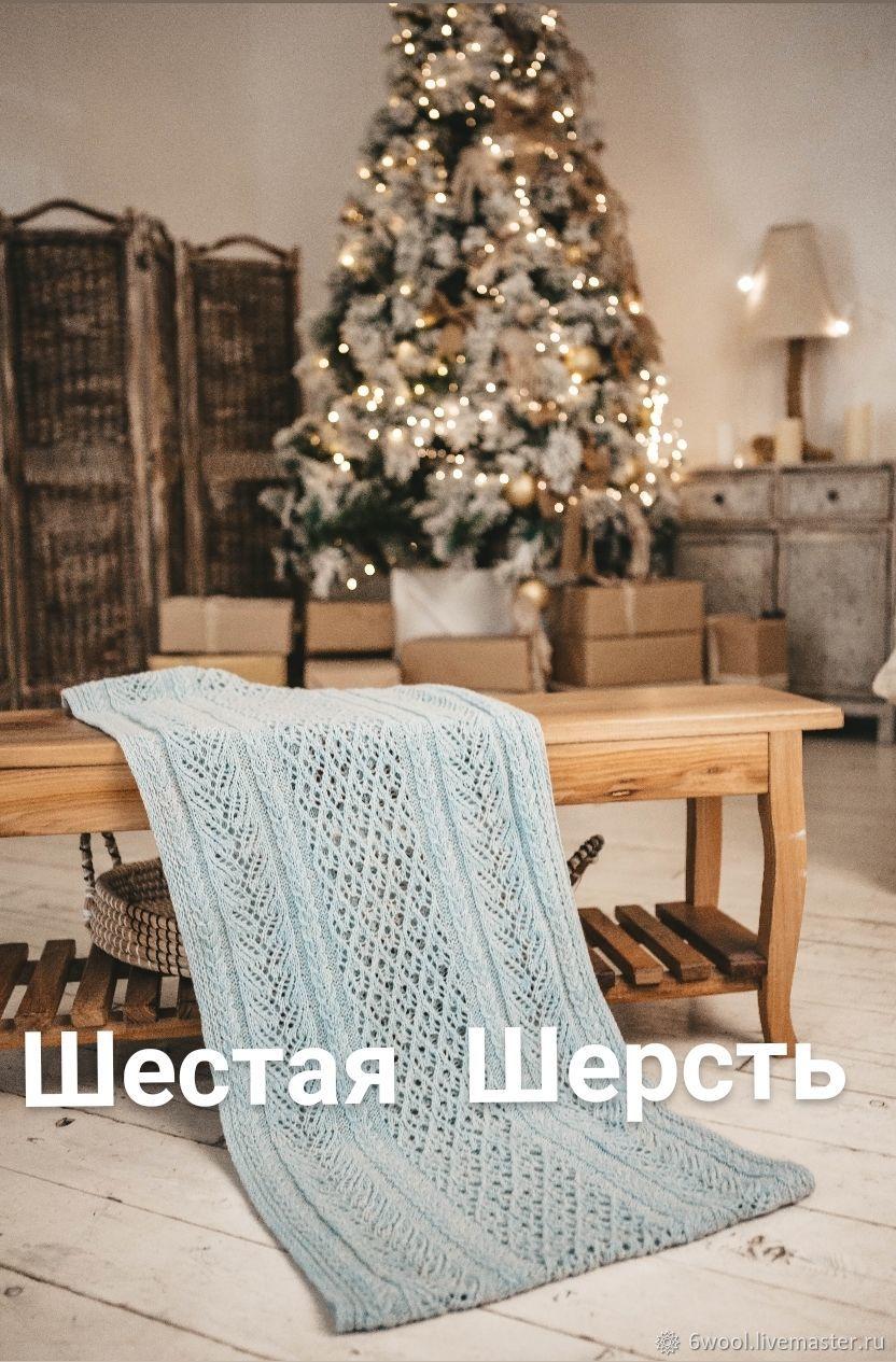 Описание - вязание палантина, Схемы для вязания, Москва,  Фото №1