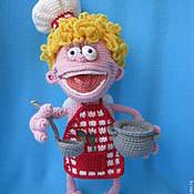 Материалы для творчества ручной работы. Ярмарка Мастеров - ручная работа Мастер-класс по вязанию игрушки Маленький помощник. Handmade.