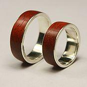 Свадебный салон ручной работы. Ярмарка Мастеров - ручная работа Обручальные кольца с падуком. Handmade.