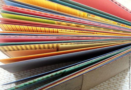 """Фотоальбомы ручной работы. Ярмарка Мастеров - ручная работа. Купить Альбом для фотографий """"Самолёт раскрасим сами..."""". Handmade."""