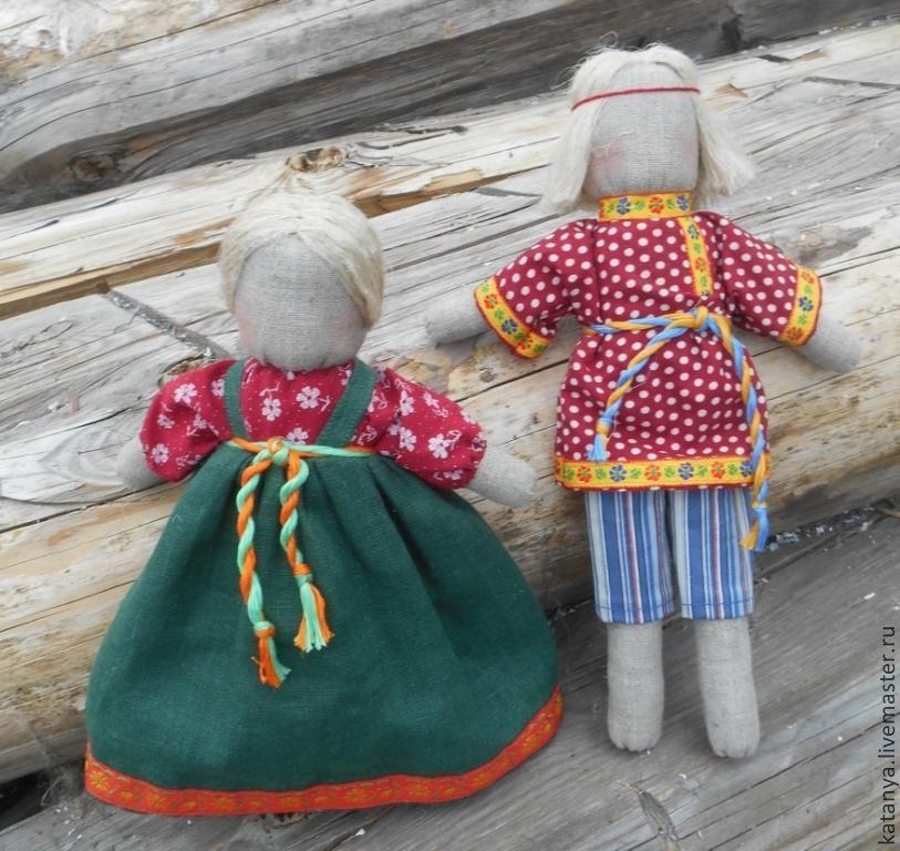 Древние русские куклы своими руками 46