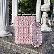 Для дома и интерьера handmade. Livemaster - original item Wicker basket for Laundry or toys. Handmade.