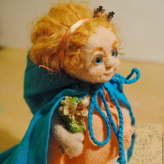 Коллекционные куклы ручной работы. Ярмарка Мастеров - ручная работа. Купить Принцесса Вилиа. Handmade. Бежевый, авторская игрушка