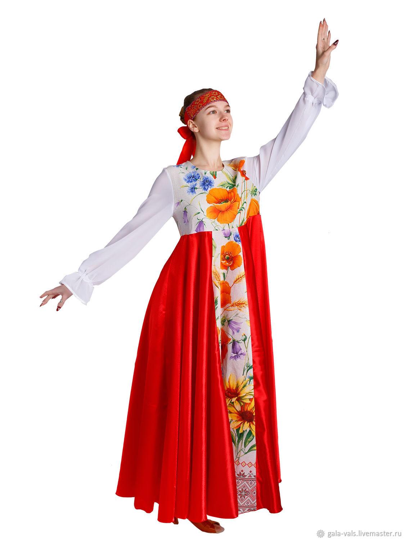 """Платье """"Любава"""", Народные платья, Кольчугино,  Фото №1"""