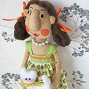Для дома и интерьера ручной работы. Ярмарка Мастеров - ручная работа Кукла- пакетница.. Handmade.