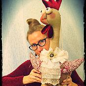 Куклы и игрушки ручной работы. Ярмарка Мастеров - ручная работа Петух Робертино. Handmade.