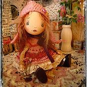 Куклы и игрушки ручной работы. Ярмарка Мастеров - ручная работа Подвижная кукла. Карина.. Handmade.
