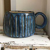 Посуда ручной работы. Ярмарка Мастеров - ручная работа Чашка с собачкой внутри. Бронь. Handmade.