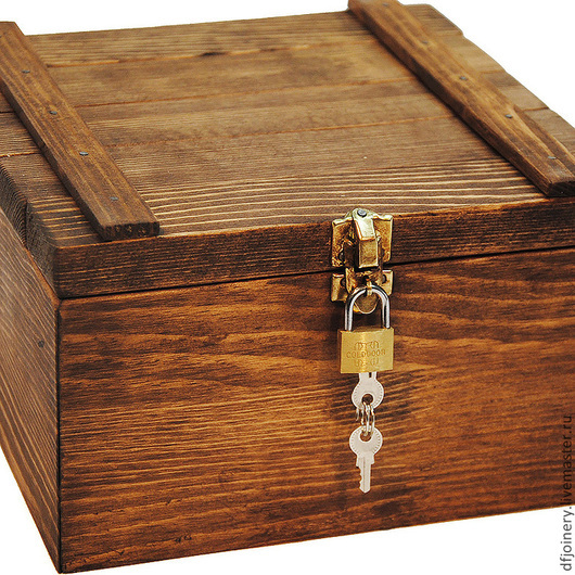 Шкатулки ручной работы. Ярмарка Мастеров - ручная работа. Купить «Пиратский Ящик». Handmade. Коричневый, шкатулка ручной работы, ящик