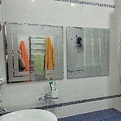 """Для дома и интерьера ручной работы. Ярмарка Мастеров - ручная работа Настенное зеркало """"Млечный путь"""". Handmade."""