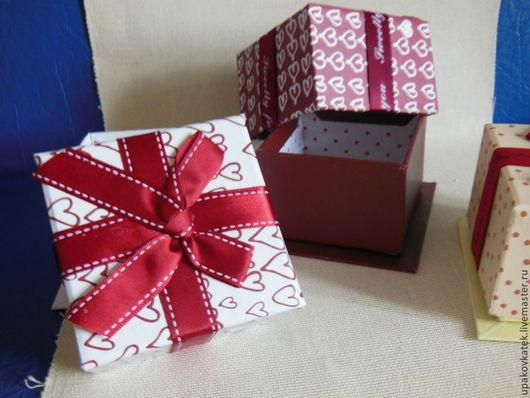 """Упаковка ручной работы. Ярмарка Мастеров - ручная работа. Купить Коробочка подарочная """"Куб"""". Handmade. Упаковка, упаковка подарка"""