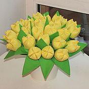 Куклы и игрушки ручной работы. Ярмарка Мастеров - ручная работа Желтые тюльпаны.... Handmade.