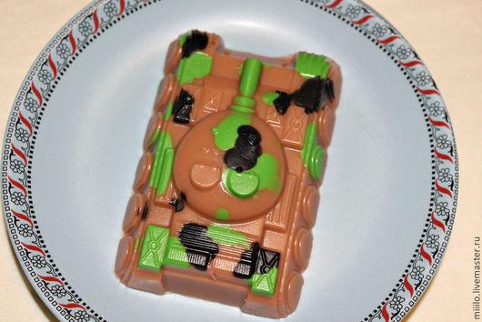 Мыло ручной работы. Ярмарка Мастеров - ручная работа. Купить мыло Танк. Handmade. Зеленый, мыло ручной работы