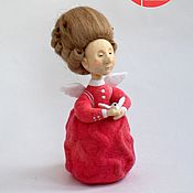 Куклы и игрушки ручной работы. Ярмарка Мастеров - ручная работа Кукла войлочная Любовь. Handmade.